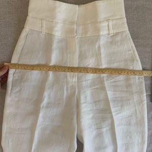 Massimo Dutti Pants & Jumpsuits - With Tags Massimo Dutti high waist linen pants